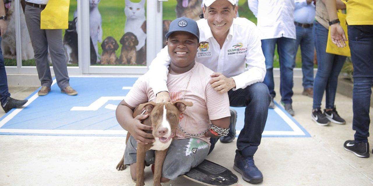 Gobernación de Bolívar entrega Centro de Bienestar Animal y Unidad Hospitalaria