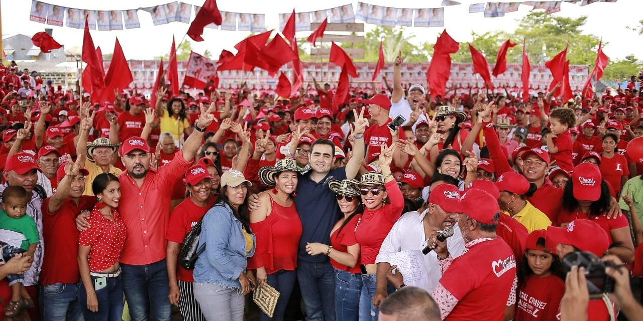 Vicente Blel consolida su candidatura en el Sur de Bolívar