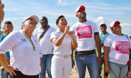 """""""Con seguridad vamos a gobernar para que los cartageneros se sientan tranquilos"""": Yolanda Wong"""