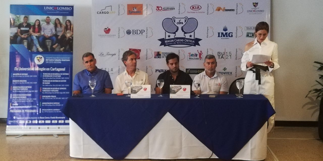 El 20 de septiembre inicia el Torneo de Tenis Interclubes Magín Chedid Ortiga