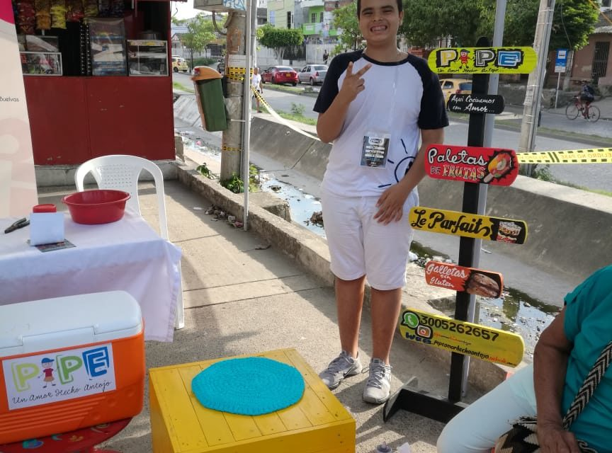 Bolivarense Positivo: Pipe, un emprendedor diferente