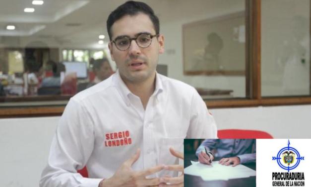 Sergio Londoño en líos con la Fiscalía