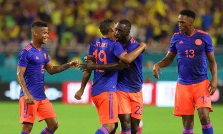 Colombia empató ante Brasil en Miami