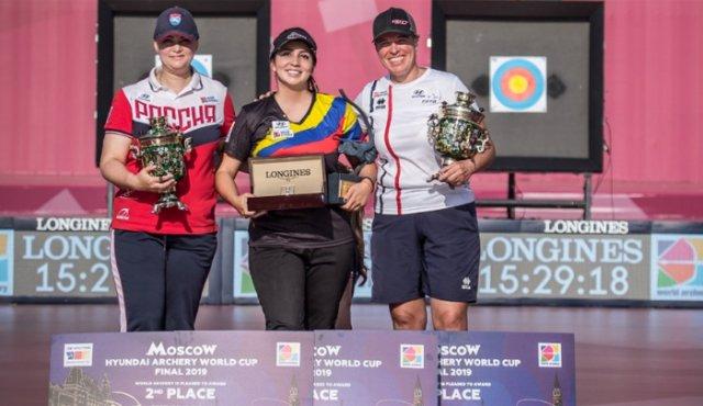 Sara López se proclama campeona de la Copa Mundo de Tiro con Arco
