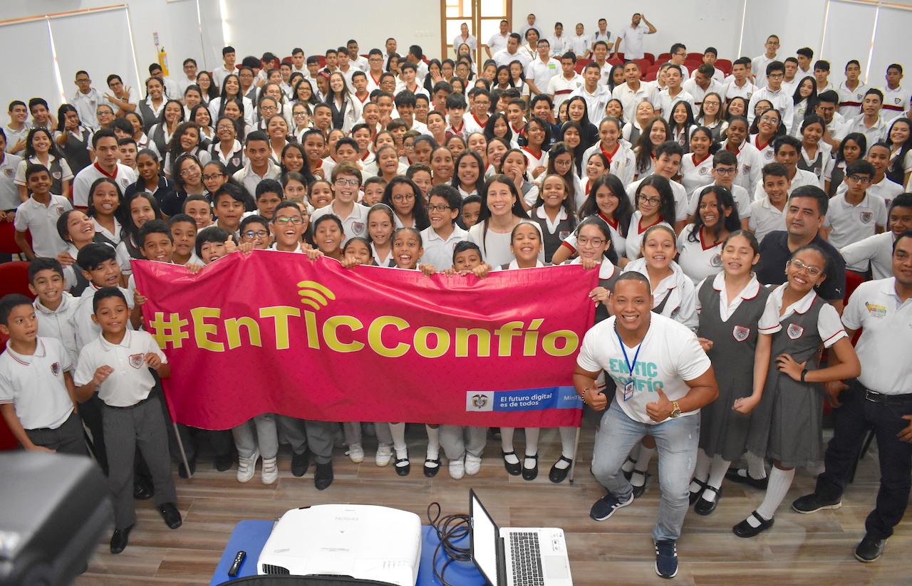Ministerio de las TIC presenta 'En TIC Confío', una estrategia de formación para brindar seguridad en la Internet