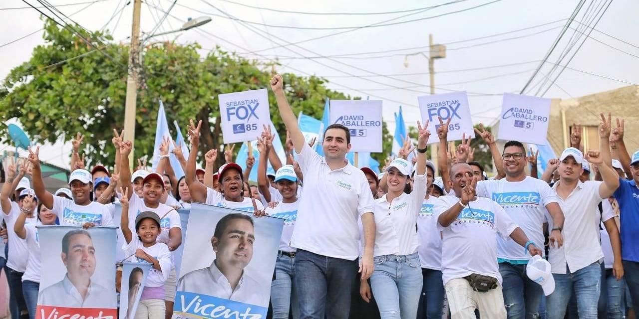 Vicente Blel Scaff nuevo gobernador de Bolivar