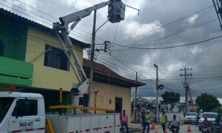 Electricaribe ejecuta trabajos para optimizar el circuito Olaya