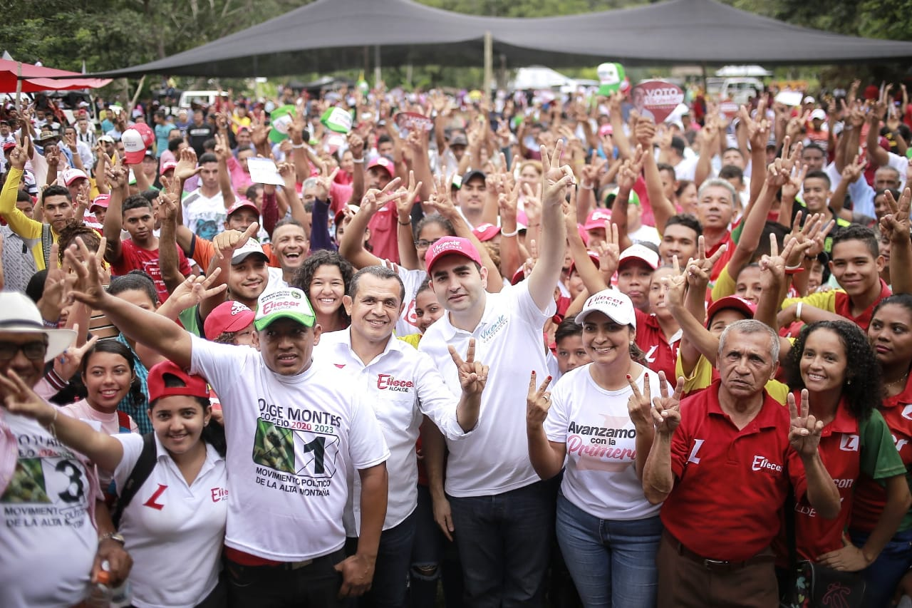 Vicentico Blel recibe masivo respaldo en Los Montes de María