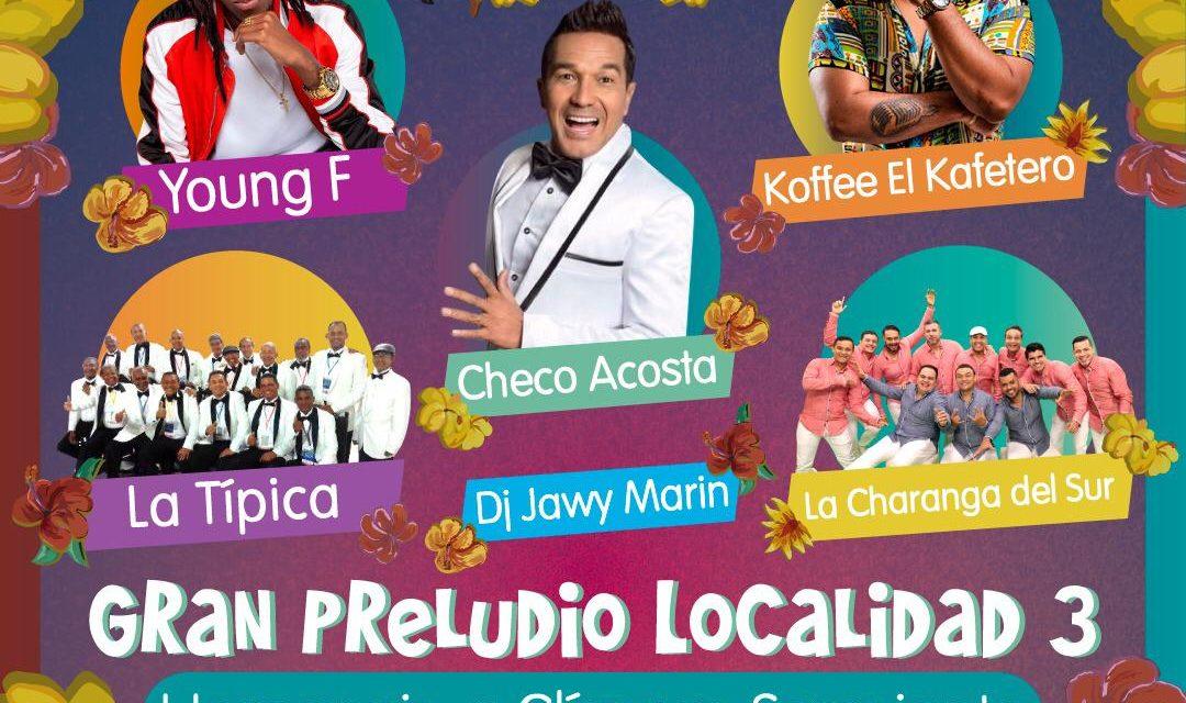 Gran Preludio de Fiestas de Independencia en Blas de Lezo