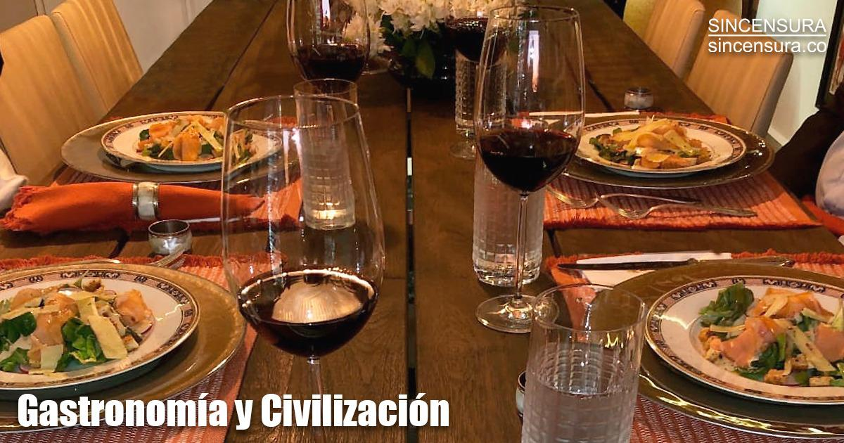 Relación entre la gastronomía y civilización según Abelardo De La Espriella