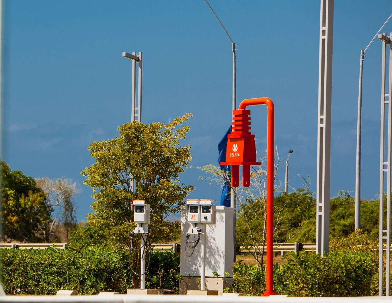Cartagena tiene su primera estación de recarga para vehículos eléctricos