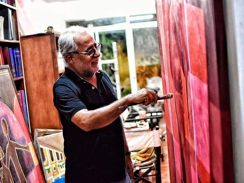 XII Bienal de Florencia celebra los 50 años de trayectoria artística de Anibal Olier