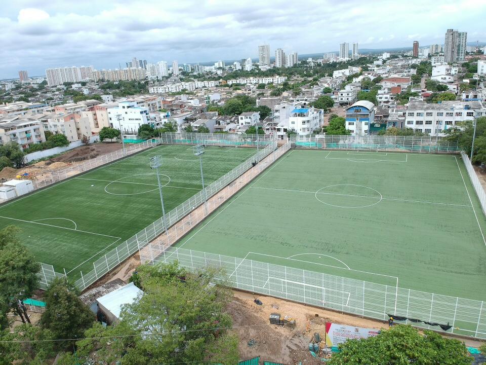 Se abre votación para bautizar cancha de fútbol 7 de Alameda La Victoria