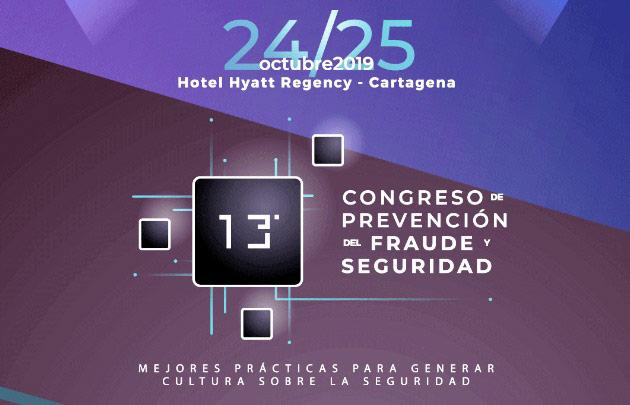 Décimo tercer congreso del fraude y seguridad
