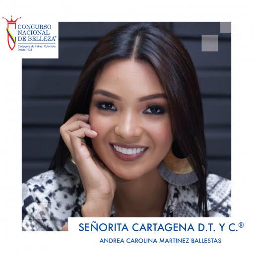 Señorita Cartagena D.T. Y C.® 2019-2020 Andrea Carolina Martínez Ballestas