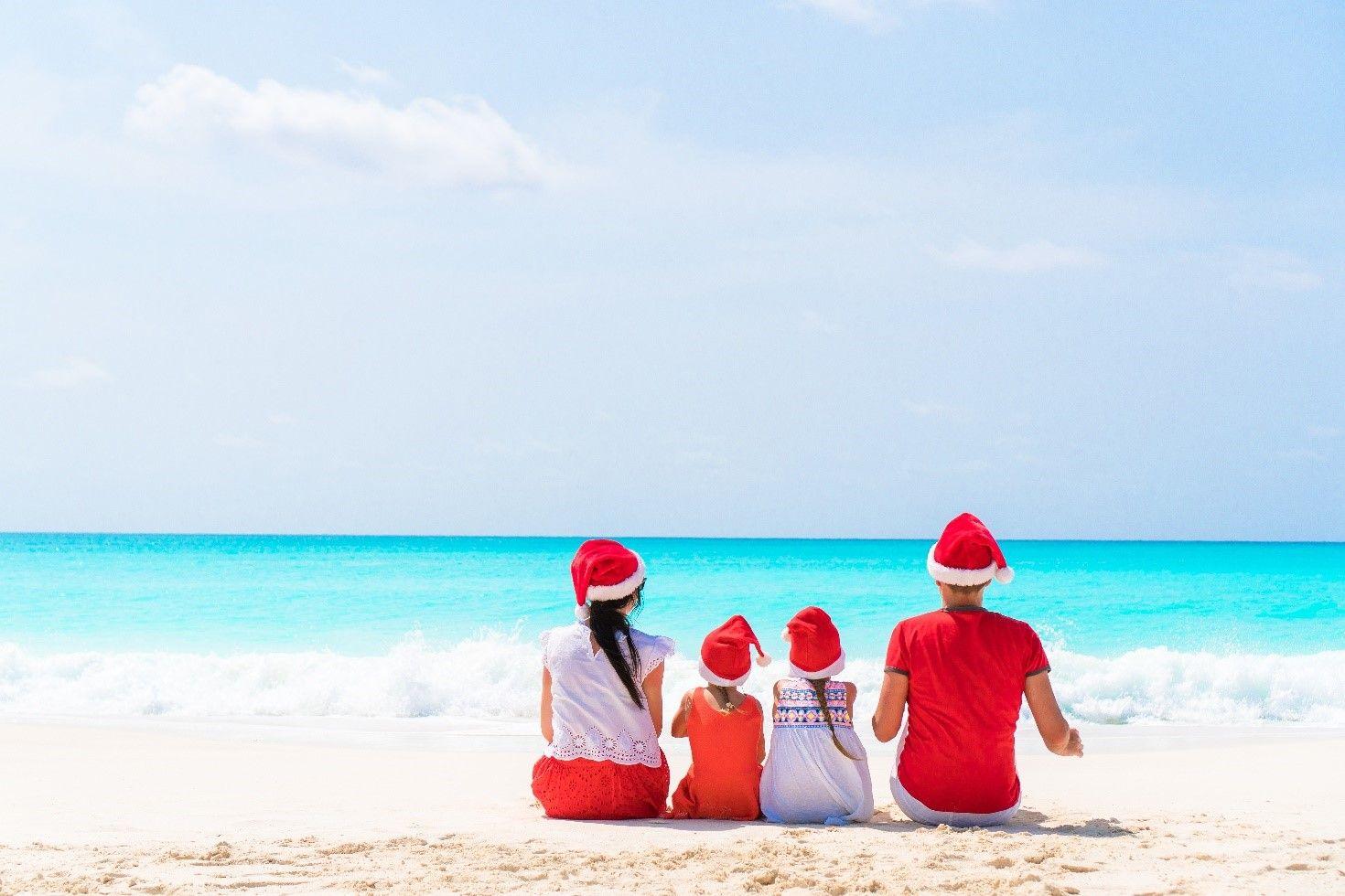 Punta Cana se prepara para unas Navidades en la playa bajo el sol del Caribe