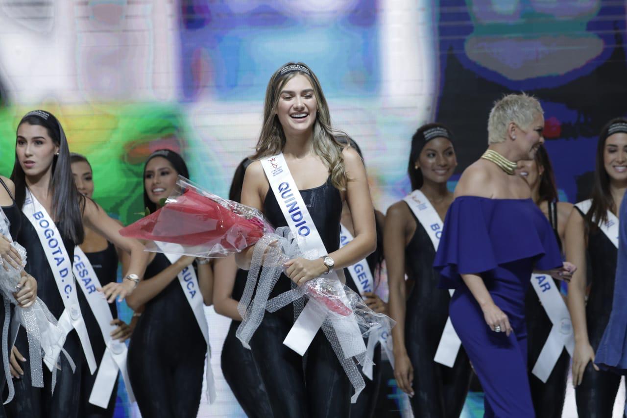 Señorita Quindío, ganadora de Cuerpo Sano