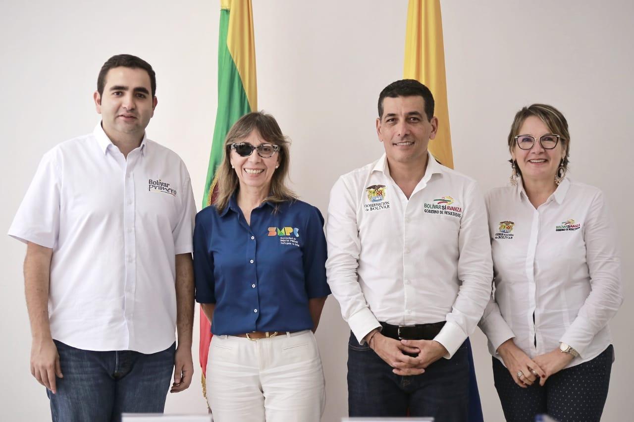 Inició empalme en la Gobernación de Bolívar