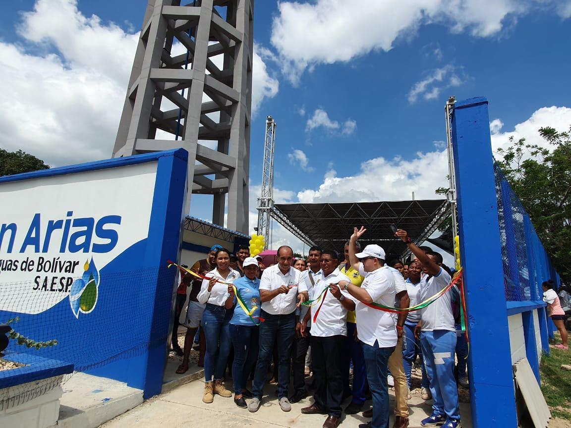 Inaugurado nuevo acueducto en Juanarias
