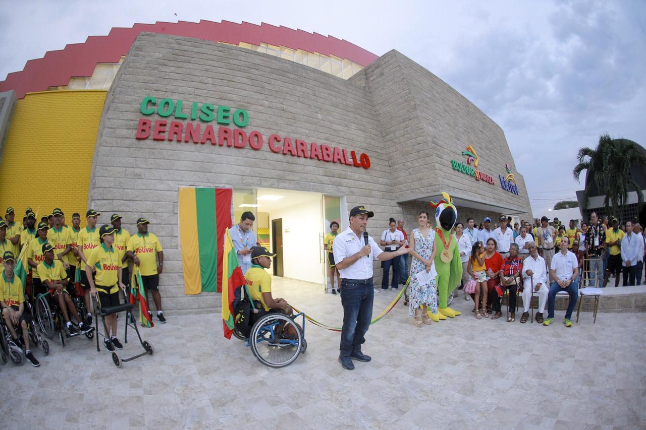 El coliseo Bernardo Carballo es entregado al servicio de la comunidad