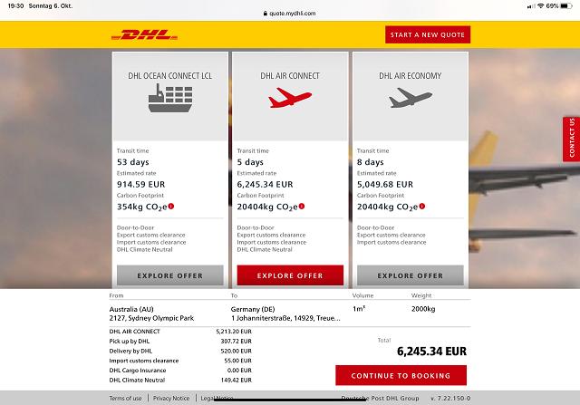 DHL Global Forwarding continúa con su plan de acción digital con nuevos servicios y funcionalidades