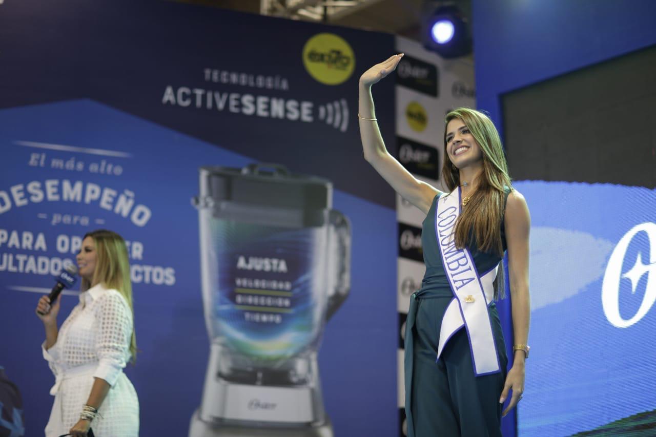 """La Señorita Colombia® dio la bienvenida en la final de """"Oster Inspira"""""""