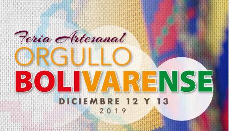 En diciembre no te pierdas la Feria Artesanal 'Orgullo Bolivarense'