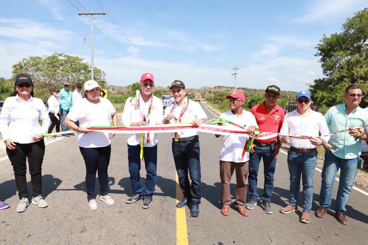 Se inaugura nueva vía San Estanislao – Villa Rosa