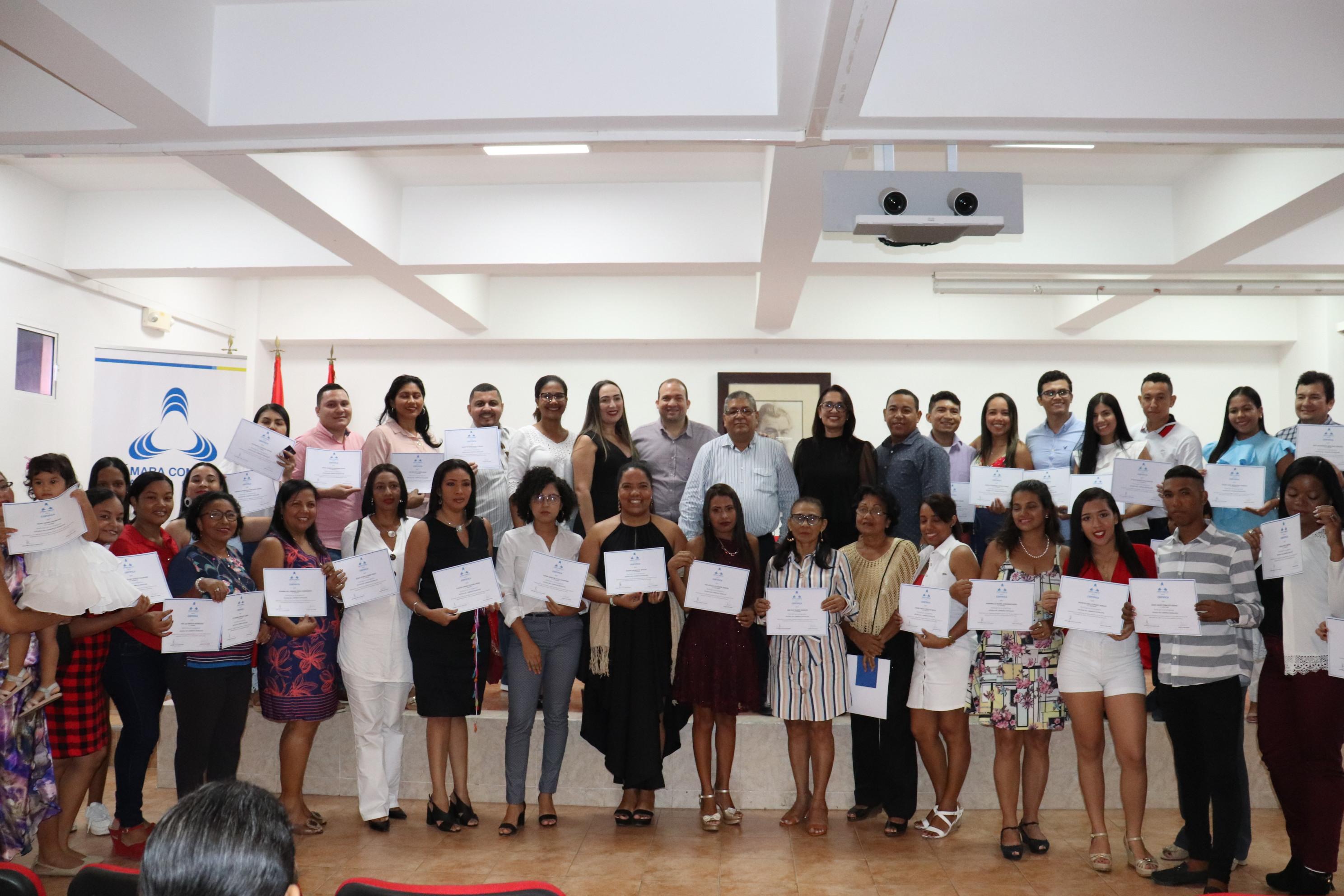 Clausura de la segunda versión de la Escuela Detallista de Cartagena