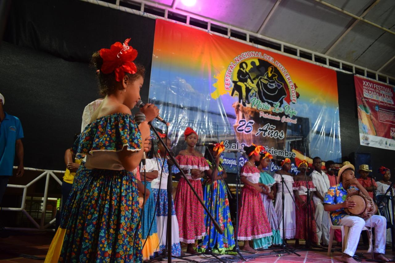 """María La Baja, celebró el Festival Nacional De Bullerengue, """"Patrimonio cultural"""""""