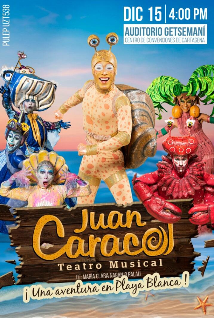 """Juan Caracol"", teatro musical que llegará a Cartagena"