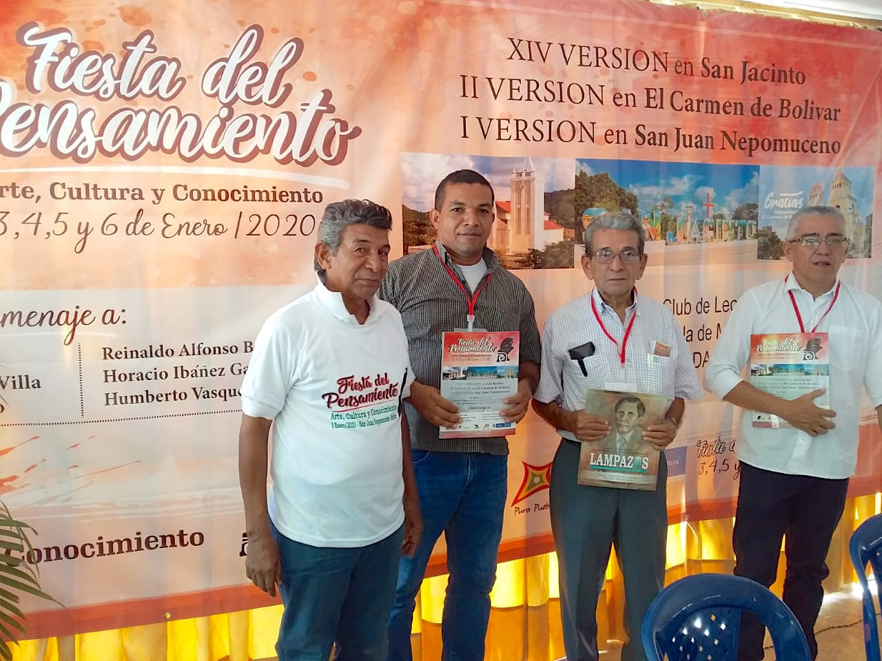 'Fiesta del Pensamiento Literario' una estrategia para construir paz en los Montes de María