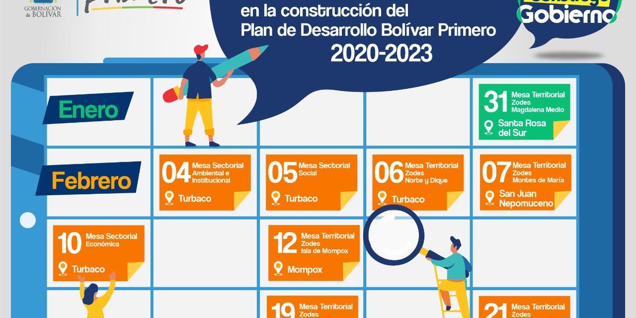 Gobernacion extiende invitación para la construcción del Plan de Desarrollo Bolívar Primero