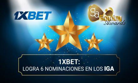 1xBet logra 6 nominaciones en los International Gaming Awards