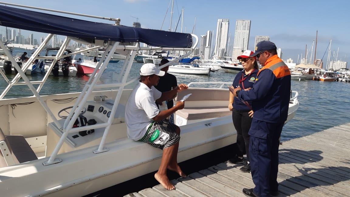 Durante controles se prohíbe zarpe de seis embarcaciones hacia las islas