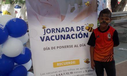 Gran jornada de vacunación nacional