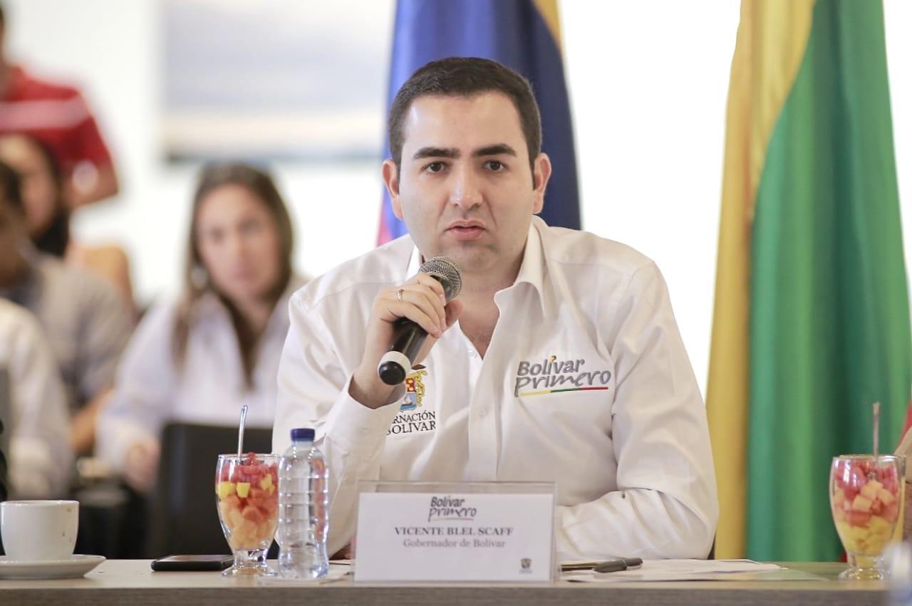 Gobernador de Bolívar lidera Plan de Salvamento de la ESE Maternidad Rafael Calvo