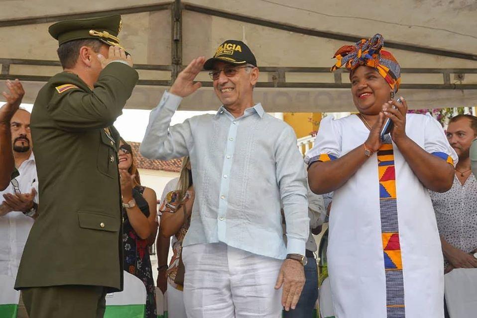 William Dau reconocido como Jefe de la Policía de Cartagena