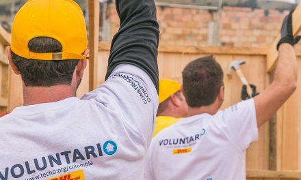 A través del voluntariado, los empleados de DHL contribuyen a construir un mundo mejor y más verde