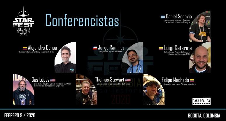 STAR FEST: La fiesta en Latinoamérica de todos los fans de Star Wars.