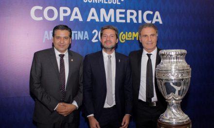"""Lammens en Colombia: """"Invitamos a los viajeros de la región a recorrer nuestro país y a sentir el Fútbol en la Copa América"""""""