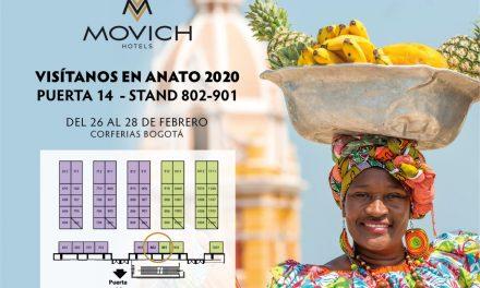 Movich Hotels, le apuesta a Colombia… 2019 cerró con una inversión arriba de los 4.300 Millones de Pesos