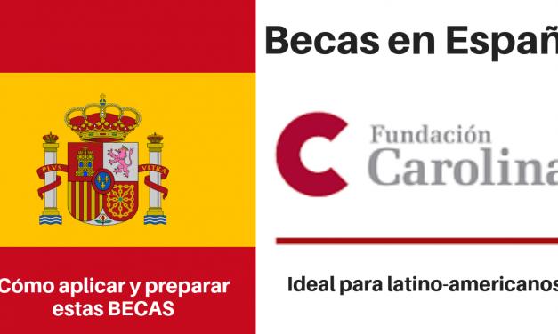 Becas para profesionales colombianos en España