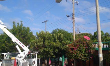 Electricaribe mejora redes eléctricas en el Centro Histórica