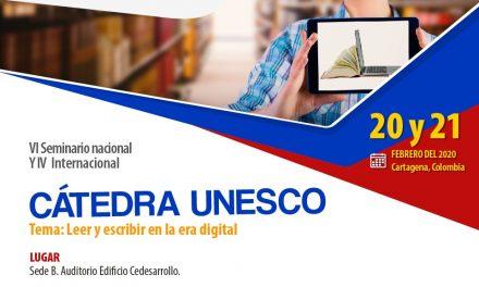 Muy pronto la Cátedra Unesco de Lectura y Escritura