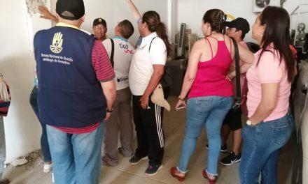 Se recomienda evacuación preventiva a edificio construido por la familia Quiroz