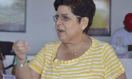 Hoy 5to aniversario de la muerte de María del Socorro Bustamante Ibarra, diregente cartagenera