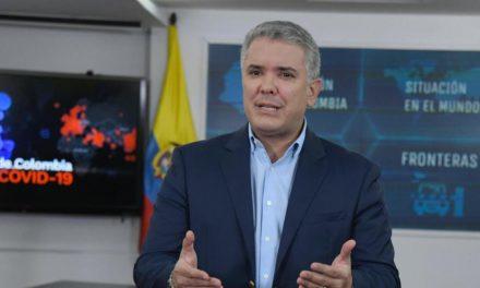 Presidente Iván Duque ordena caída a toques de queda en el país