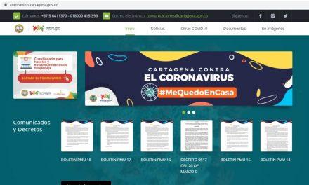Distrito lanza sitio web para informar sobre el coronavirus
