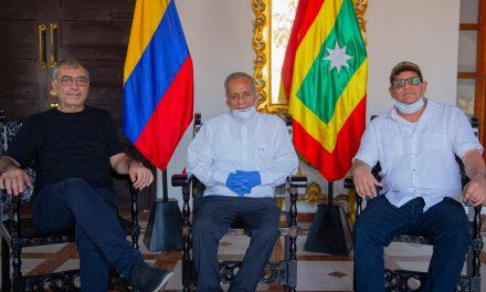 Alcalde y presidente del Concejo de Cartagena se comprometen en trabajar en la misma dirección